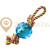 Petstages Mini Orka Ball wrope pt222 Орка мини мячик с канатиками
