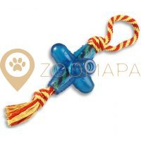 Petstages Orka Jack with Rope - small pt130 Oрка Джек малая с канатиком
