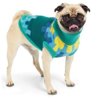 GF Pet Blackcomb Sweater Green
