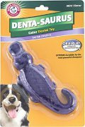 Arm & Hammer Dental Ora Play Denta-Saurus Mint Flavor Dental Dog Toy Аллигатор